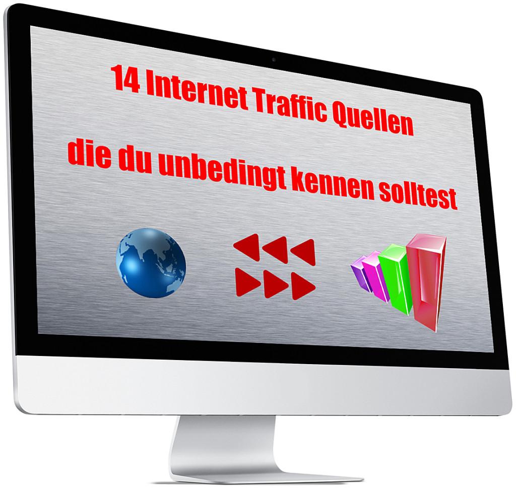 14 Internet Traffic Quellen die du unbedingt kennen solltest