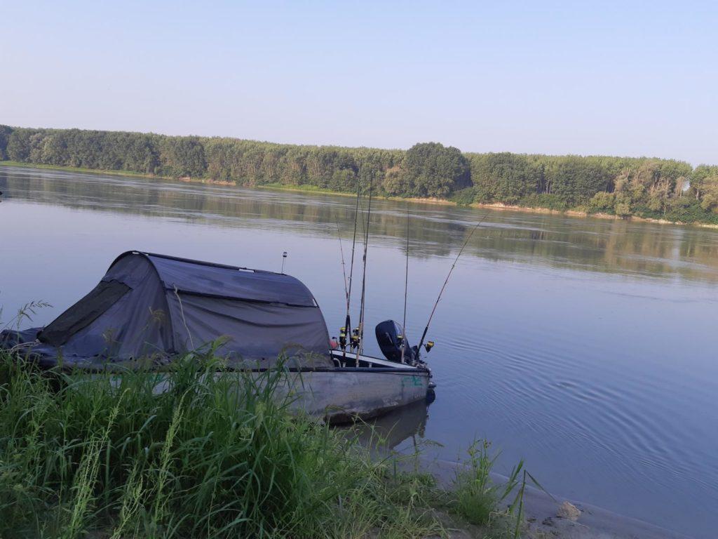 Fischen mit Boot